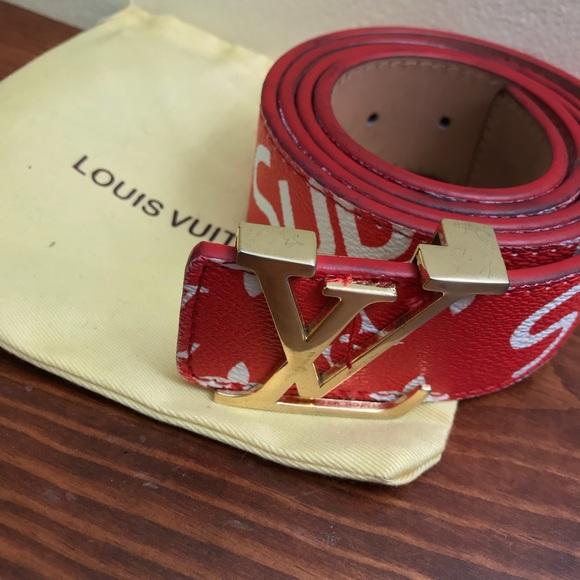 Louis Vuitton X Supreme Belt M 5b50e561fb3803bca4993ee8